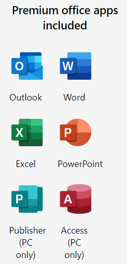 Office365 Plans 5 products